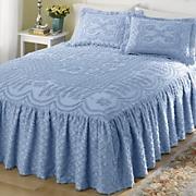 Lattice Ruffle Chenille Bedding