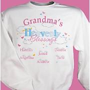 Grandma's Heavenly Blessing Sweatshirt