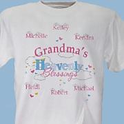 Grandma's Heavenly Blessings T-Shirt