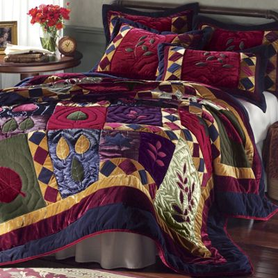 Well-known Velvet Dreams Quilt & Sham from Seventh Avenue   DI72610 TF71