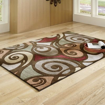 Pirouette Carved Rug