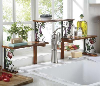 2 Tier Garden Bounty Over The Sink Shelf From Seventh