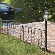 Solar Garden Fence 1