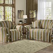 Classic Stripe Slipcovers Collection