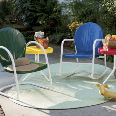 Retro Metal Lawn Furniture