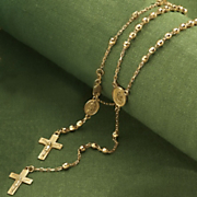 Rosary Bracelet And Necklace
