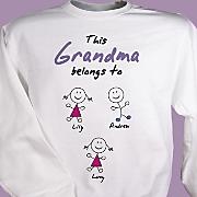 Belongs To Personalized Sweatshirt