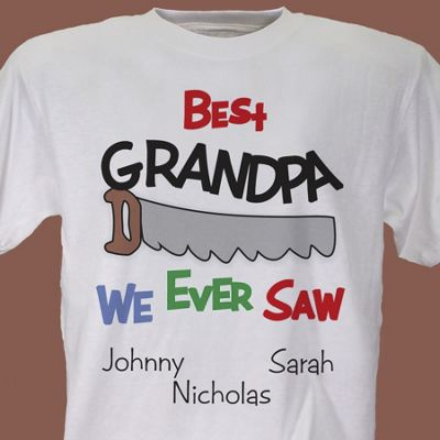 Best We Ever Saw Personalized Tee