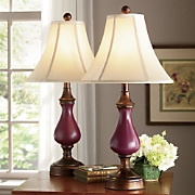Pair Of Touch Table Lamps