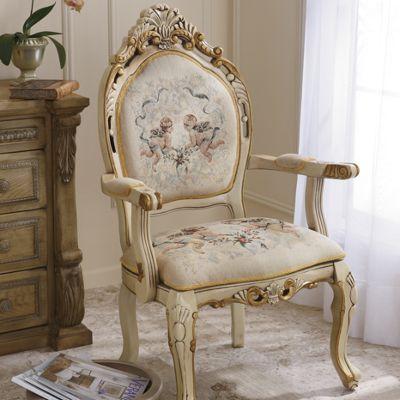 Cherub Tapestry Chair