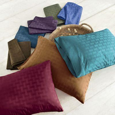 500-Thread Count Basket Weave Sheet Set