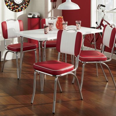 Java Joint Table And Set Of 2 Kitchen Chairs
