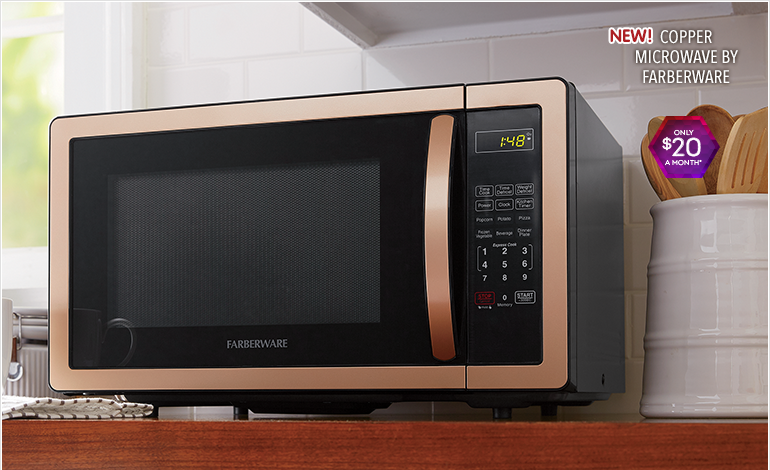 Ovens, featuring Copper Microwave by Farberware