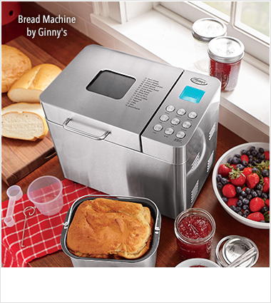 Ginny's Brand, featuring Ginny's Brand Bread Machine