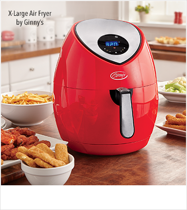 Fryers, featuring x-Large Air Fryer by Ginny's