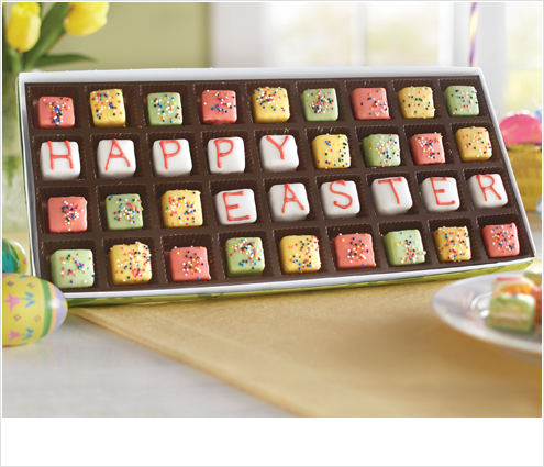 Shop Food Gifts, featuring mini easter petits fours