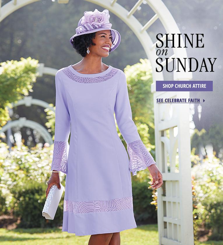 Church Attire Clothing Dresses Suits Hats Plus Size Ashro