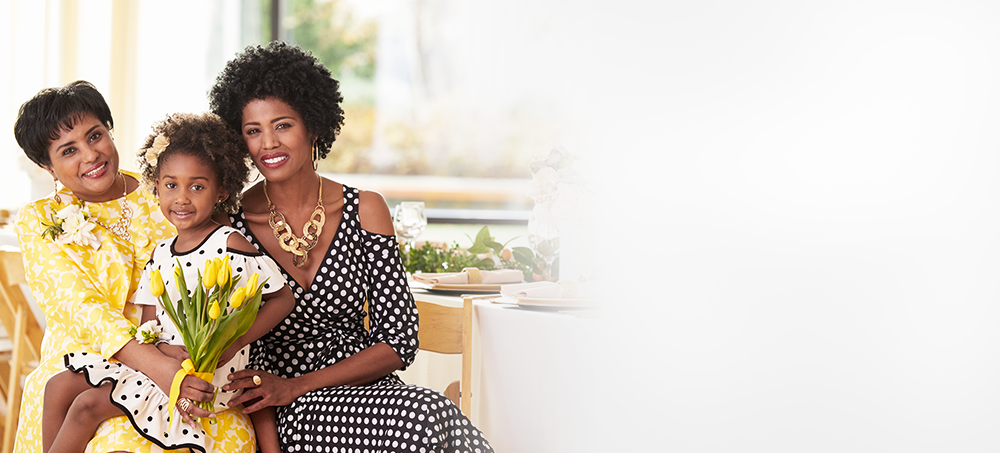 Celebrate Family Get inspired! Really stand out as you gather, celebrate and honor the strong influencers in your life. Take a Look Video embed caption: Go behind the scenes with Ashro model, Rachal, and her inspirational mom, Rochelle.