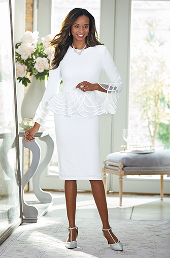 Wow in White Ever elegant, classic, crisp white brings out your inner glow. Shop White-Hot Style
