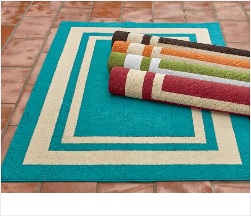 SHOP GREAT DEALS, featuring Borderline Indoor/Outdoor rugs