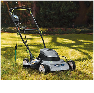 "Shop Lawn Care, featuring 18"" Electric Mower"