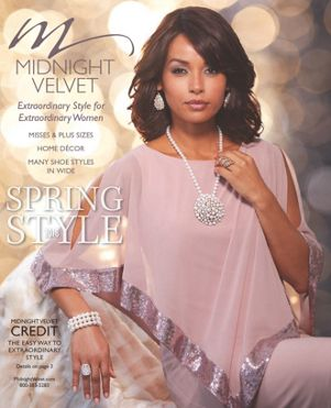 Midnight Velvet is all about your style. Our free catalogs are filled with beautiful pages that inspire and motivate. Express your unique flair in fashion and home décor with modern design and trends. Our clothing is designed for every stylish woman.