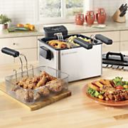 smart fry xl 4 qt deep fryer by aroma