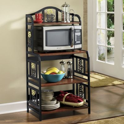 Coffee Cup Microwave Cart