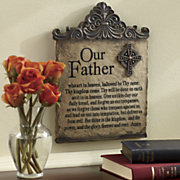 lord s prayer plaque