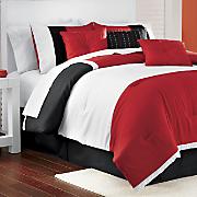 Bailey 7-Piece Bedding Set & Window Treatments