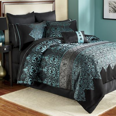 Kismet Woven Jacquard 10 Piece Bed Set