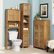 Great Value Bamboo-Finish Bath Furniture