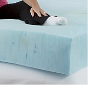 "8"" Sleep Connection Viscose Memory Foam Mattress with Smooth Cooling Gel by Montgomery Ward"