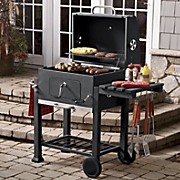 (Not Your Basic) Backyard Charcoal Grill