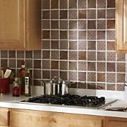 Self-Stick Solid Backsplash Tiles