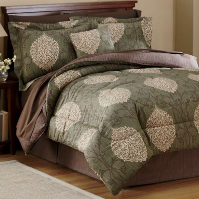 Comforter Set, Valance, Panel Pair and Pillow