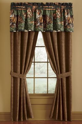 Wildcats or Wolves Window Treatments