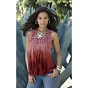 sunset fringe top 13
