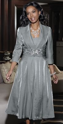 Elegant Jacket Dress From Seventh Avenue D8650976