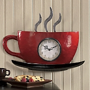 Cuppa Joe Wall Clock