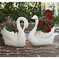 Buy Both Swan Planters