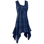 sleeveless hankie tunic