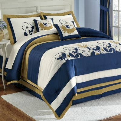 Truvy Comforter Set, Window Treatments & Pillow