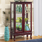 2-Door Lighted Cabinet