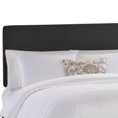 Microfiber Upholstered Headboard