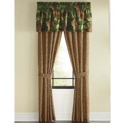 Cheetah Window Treatments