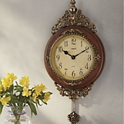 Ornate Gold Clock