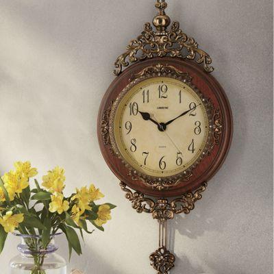 Ornate Gold Clock