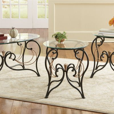 Apollinia 3-Piece Table Set