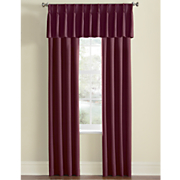 thermal pinch pleat panels and valance 255